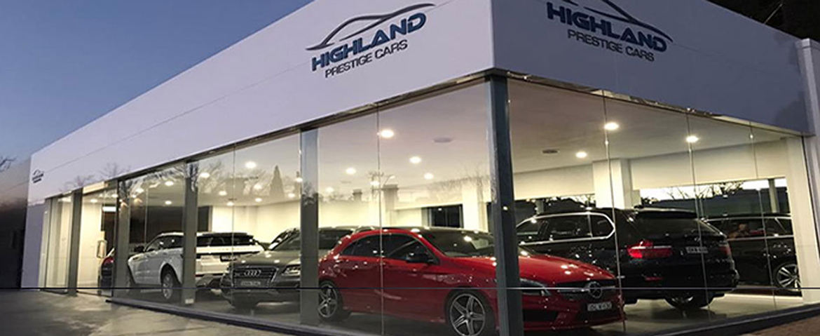 Highland Prestige Cars - Prestige classic & unique car sales
